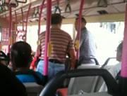 バス車内でおじさん同士の喧嘩
