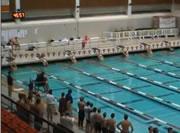 バサロだけでゴールする水泳選手