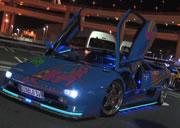 Modified Lamborghinis, Wangan Freeway, Tokyo