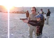 11歳の女の子の射撃