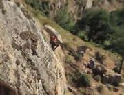 崖から飛び込み失敗