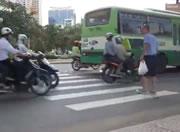 ベトナムの横断歩道