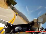 バイク転倒事故