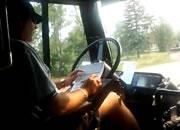 危険なバス運転手