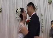 結婚披露宴でアクシデント