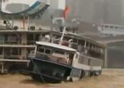 中国 遊覧船転覆