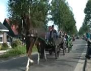 馬車の追突事故