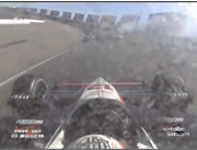 Las Vegas 2011 Indy Car アクシデント