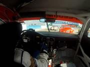 レース中にハンドルが外れる