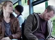 バスの中で居眠り・・・