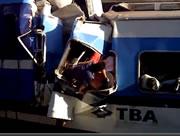 ブエノスアイレス 停車位置で止まれずに車両止めに激突事故