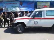 イラン 救急車が人身事故