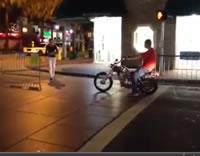 超恥ずかしいバイクのスタート
