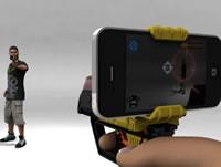 iPhoneで本格的シューティングゲーム Laser Blaster