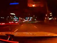信号無視バイクと衝突