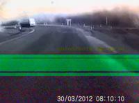 トラックと衝突事故