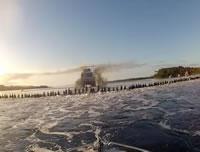 水上スキー 同時に145人でギネス