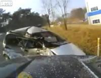 正面衝突事故