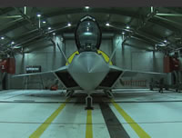 F-22 Afterburner Test