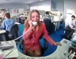 オフィス 私用電話に激怒