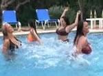 プールと巨乳ちゃん