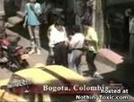 コロンビア ひったくり現行犯逮捕