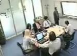 会議中に携帯電話