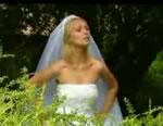 どっきりカメラ 茂みの中で花嫁と・・・